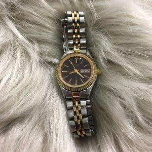 Citizen Women's Watch Silver/Gold/Black